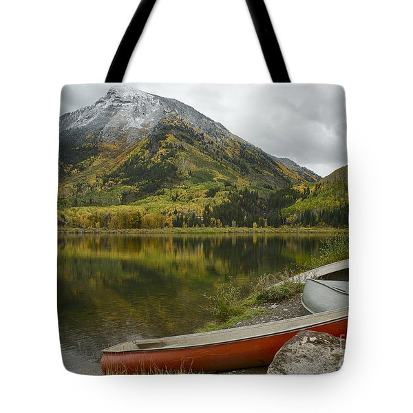 Whitehouse Mountain Tote Bag by Idaho Scenic Images Linda Lantzy