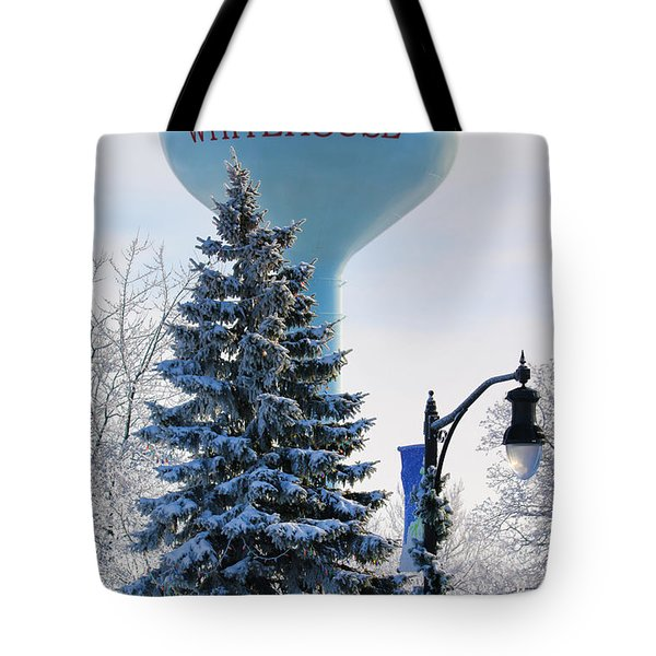 Whitehouse Water Tower  7361 Tote Bag by Jack Schultz