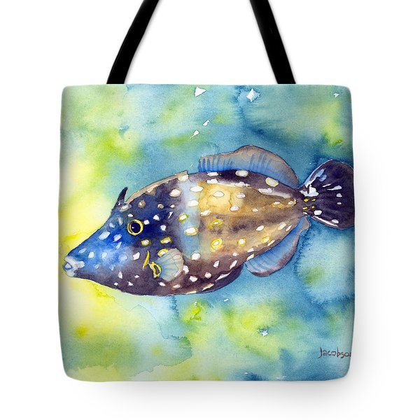 Whitespot Filefish Tote Bag