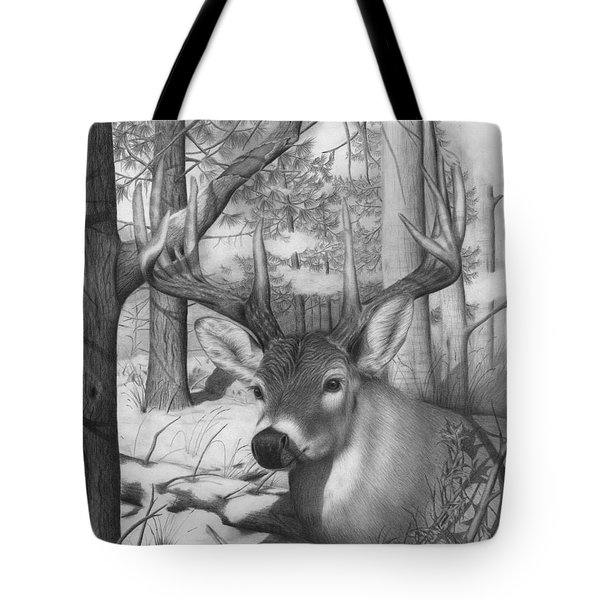Whitetail Phantom Tote Bag