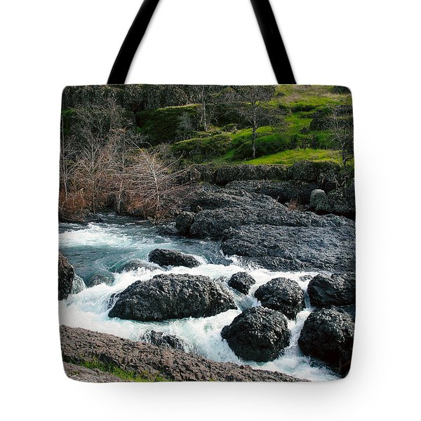 Whitewater At Bear Hole Tote Bag
