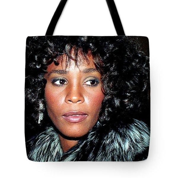 Whitney Houston 1989 Tote Bag