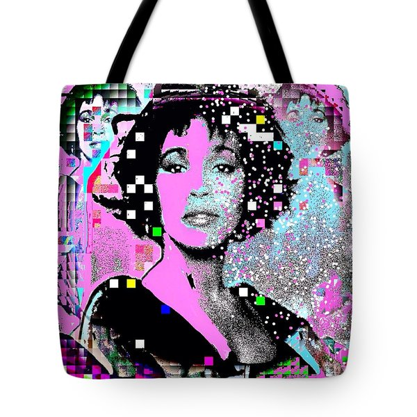 Whitney Houston Sing For Me Again 2 Tote Bag