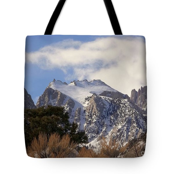 Whitney Portal - California Tote Bag by Glenn McCarthy Art and Photography