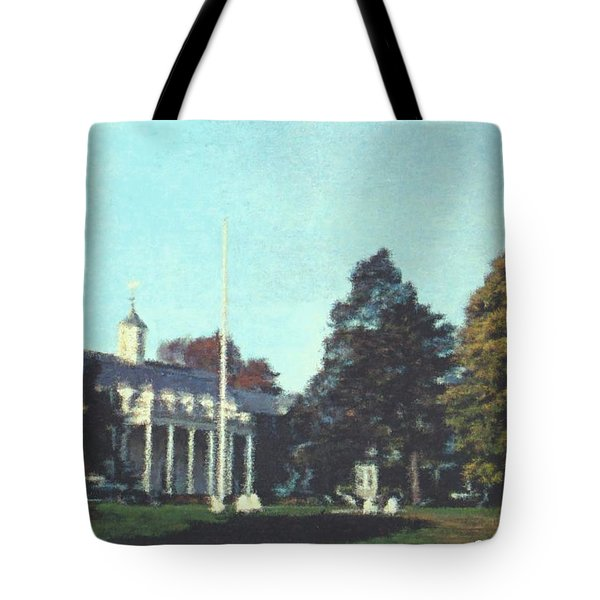 Whittle Hall Tote Bag by Bruce Nutting