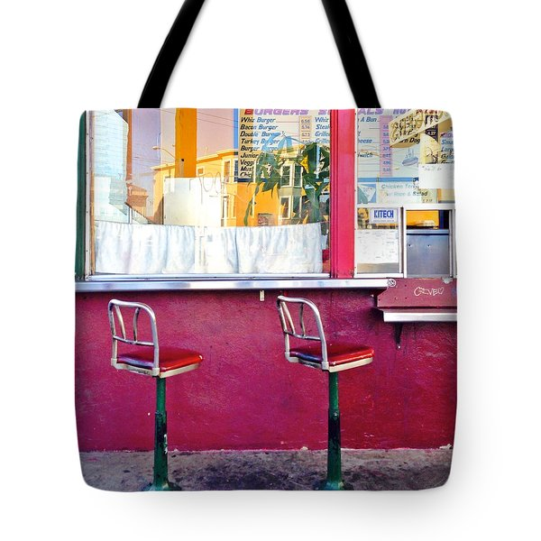 Whiz Burger Tote Bag