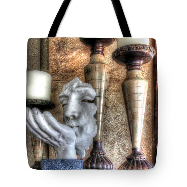 Who Blew Out Kate's Kandles Tote Bag by Bob Hislop