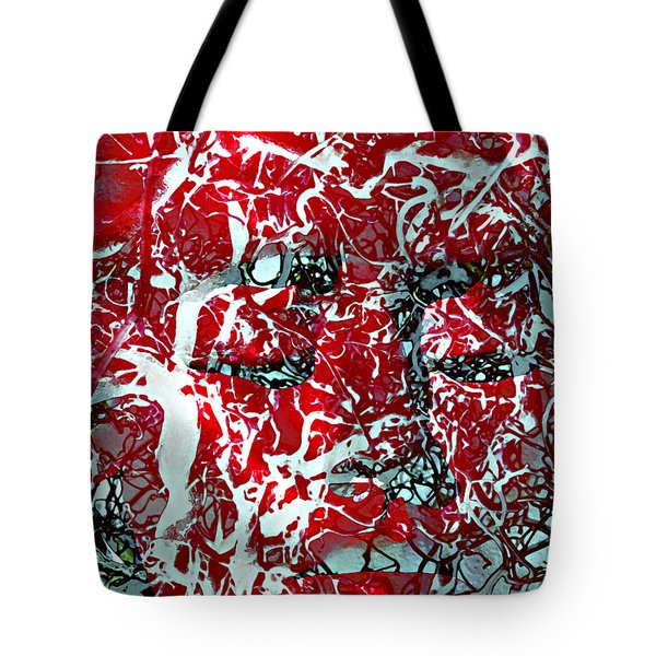 Who Can Fathom Her Tote Bag by Angelina Vick