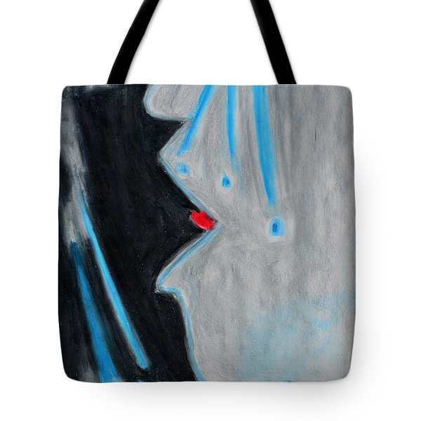 Who Helps Those Who Cry In Silence Tote Bag by Donna Blackhall