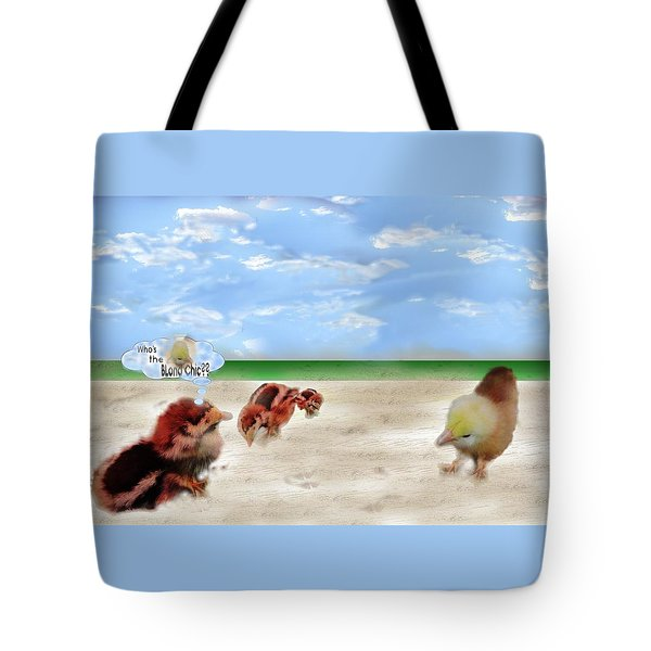 Who Is The Blond Chic Tote Bag