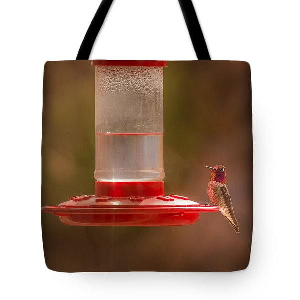 Tote Bag featuring the photograph Who Is Watching Who by  Onyonet  Photo Studios
