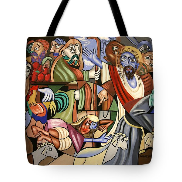 Who Touched Me Tote Bag by Anthony Falbo