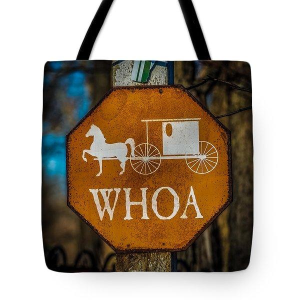 Whoa Tote Bag