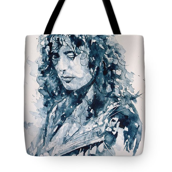 Whole Lotta Love Jimmy Page Tote Bag