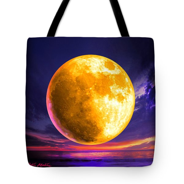 Whole Of The Moon Tote Bag