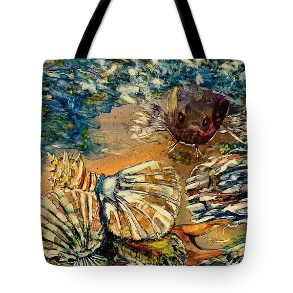 Who's Got The Pearl? Tote Bag