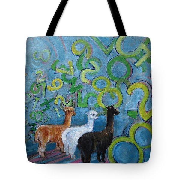Why All The Confusion? Tote Bag
