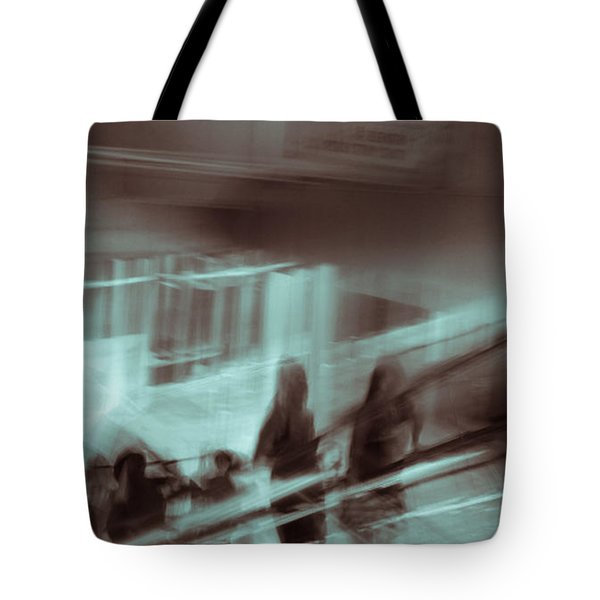 Tote Bag featuring the photograph Why Walk When You Can Ride by Alex Lapidus