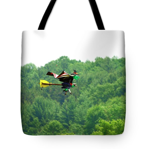 Wicked And Flying Tote Bag by Thomas Young