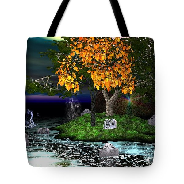 Wicked In The Darkest Hours Of Night Tote Bag