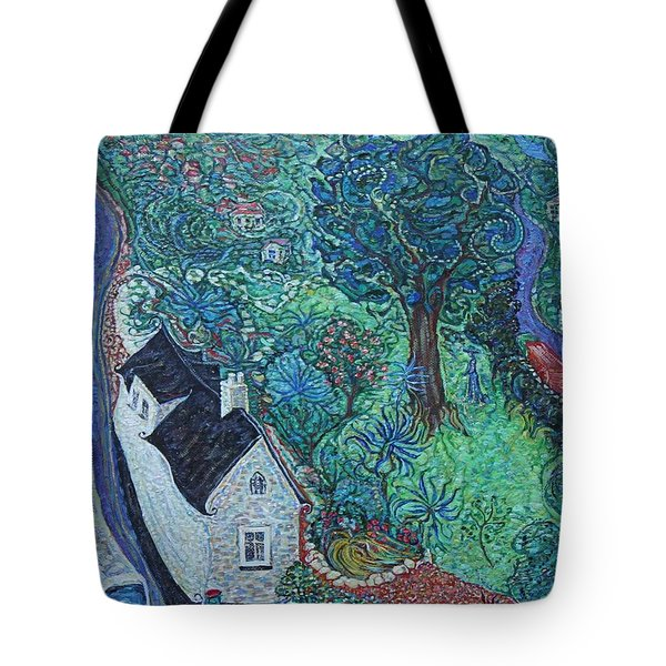 Wicklow Town - A Glimpse Of Ireland Tote Bag
