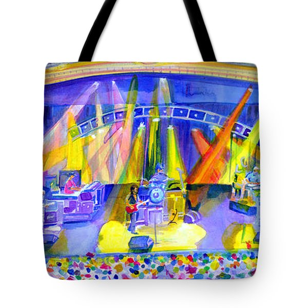 Widespread Panic Peabody Opera House Tote Bag by David Sockrider