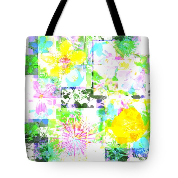 Wild About Flowers Tote Bag by Barbara Moignard