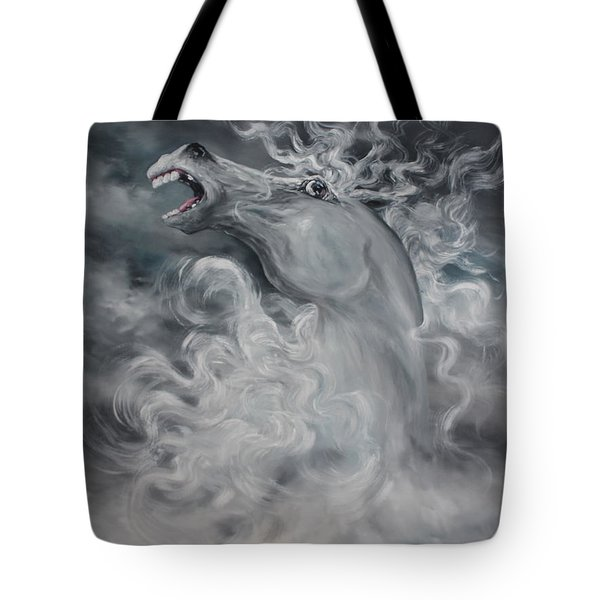Tote Bag featuring the painting Wild And Free by Jean Walker