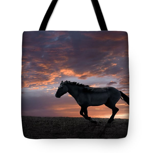 Wild And Free Tote Bag by Leland D Howard