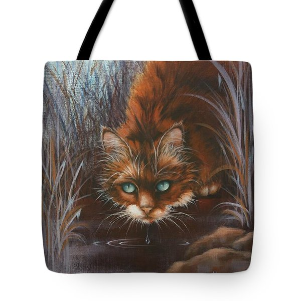 Tote Bag featuring the painting Wild At Heart by Cynthia House