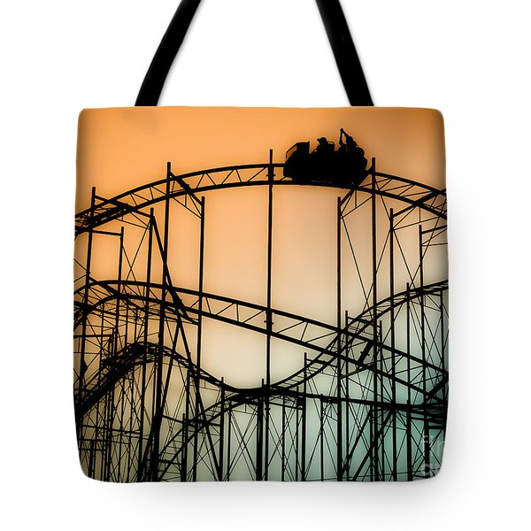 Wild At Night Tote Bag by Colleen Kammerer