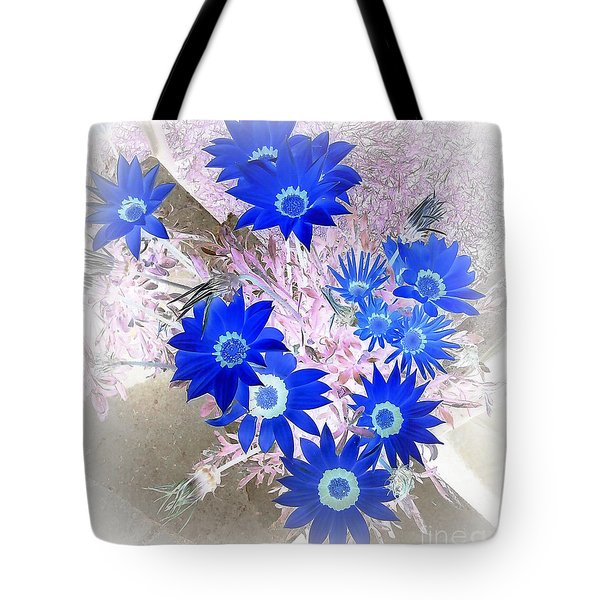 Wild Blue Tote Bag by Kenneth Clarke