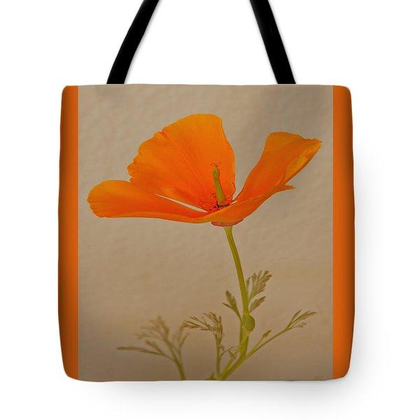 Wild California Poppy No 1 Tote Bag