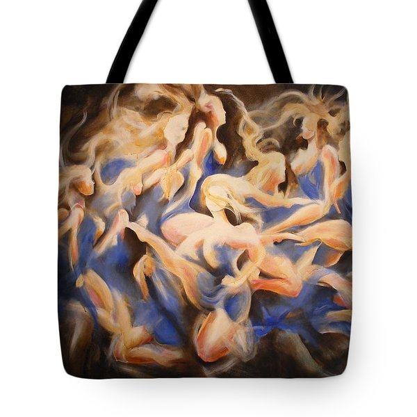 Wild Dance Tote Bag