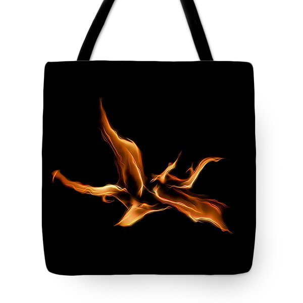 Wild Fire Tote Bag