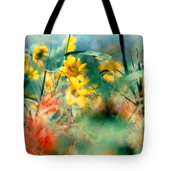 Tote Bag featuring the photograph Wild Flower Floral Lower Garden District New Orleans La Usa by Michael Hoard