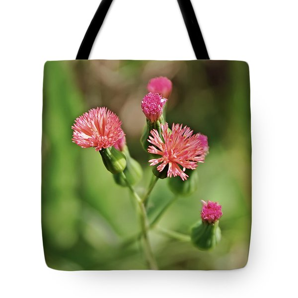 Tote Bag featuring the photograph Wild Flower by Olga Hamilton