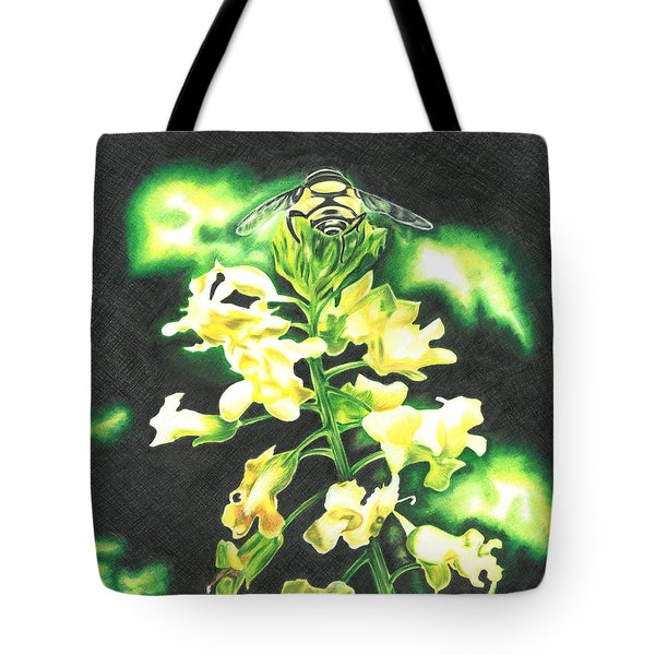 Wild Flower Tote Bag by Troy Levesque
