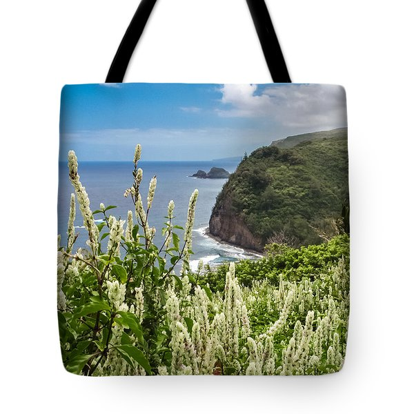 Wild Flowers At Pololu Tote Bag by Denise Bird