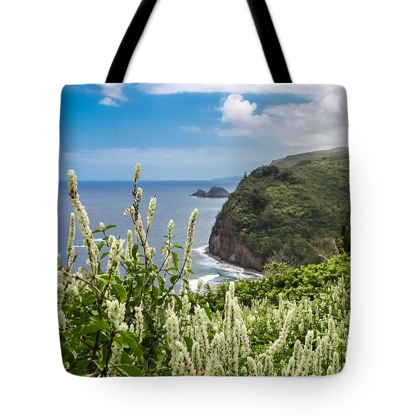Wild Flowers At Pololu Tote Bag