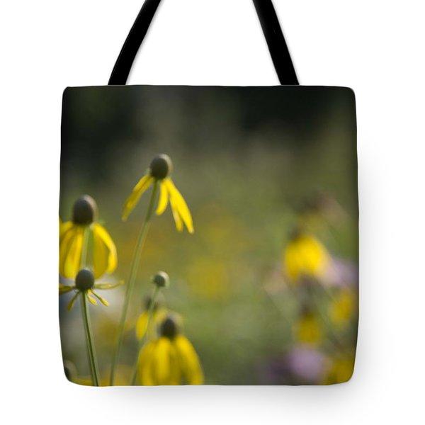 Wild Flowers Tote Bag by Daniel Sheldon