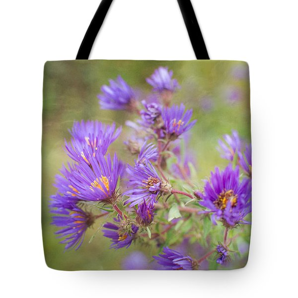 Wild Flowers In The Fall Tote Bag