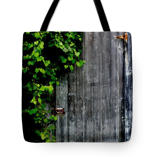 Wild Grape Vine Door Tote Bag