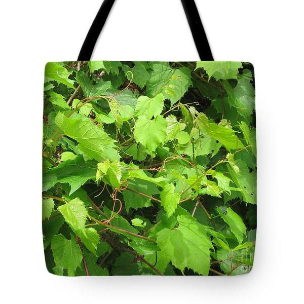 Wild Grapevine Tote Bag