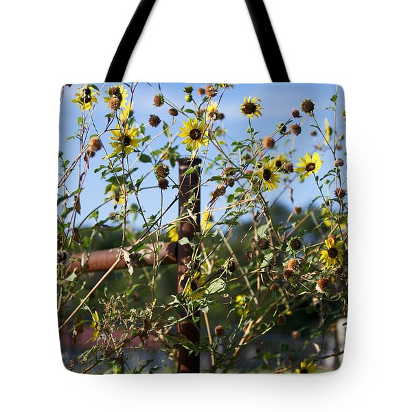Tote Bag featuring the photograph Wild Growth by Erika Weber