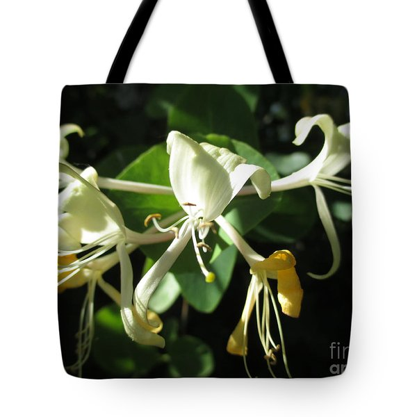 Wild Honeysuckle Tote Bag