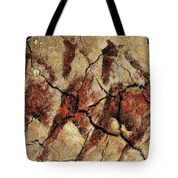 Wild Horses - Cave Art Tote Bag