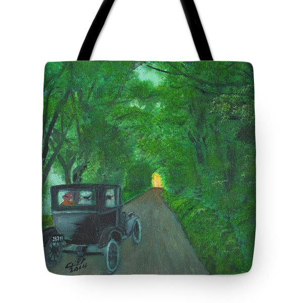 Wild Irish Roads Tote Bag