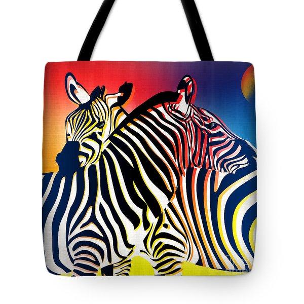 Wild Life 2 Tote Bag