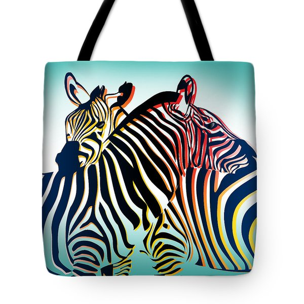 Wild Life  Tote Bag by Mark Ashkenazi